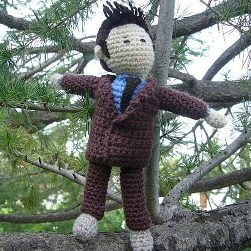 Tenth Doctor Who doll