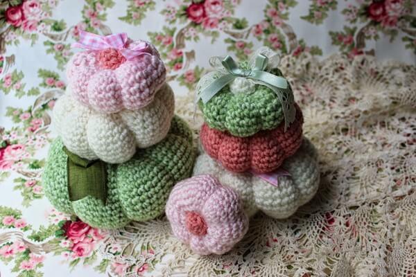 Crocheted Pumpkins