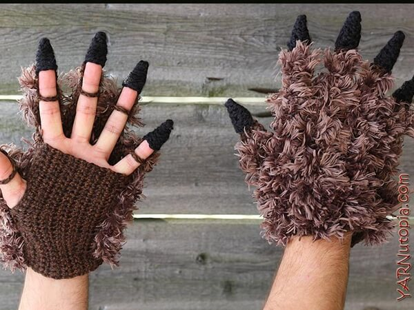 Beast Costume Gloves